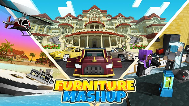 Furniture Mashup on the Minecraft Marketplace by Mythicus