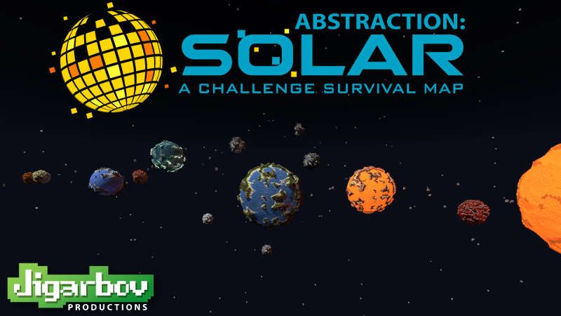 Abstraction SOLAR on the Minecraft Marketplace by Jigarbov Productions