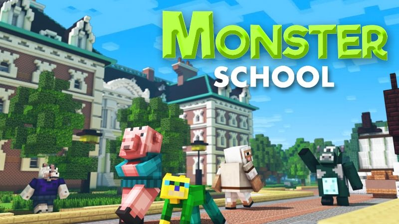 Monster School on the Minecraft Marketplace by InPvP