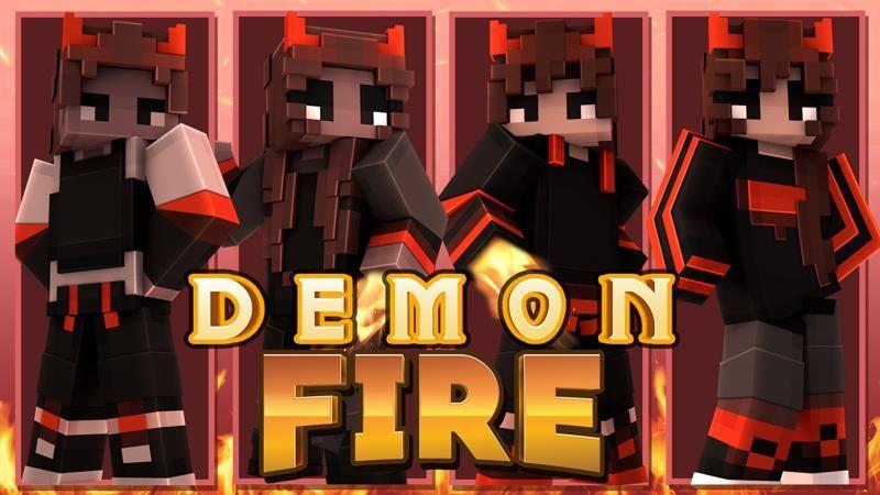 Demon Fire on the Minecraft Marketplace by 4KS Studios