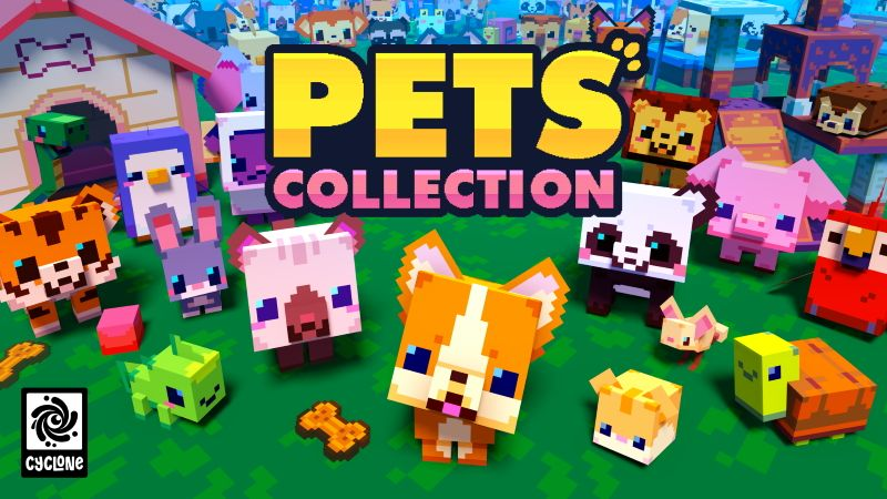 Pets Collection on the Minecraft Marketplace by Cyclone