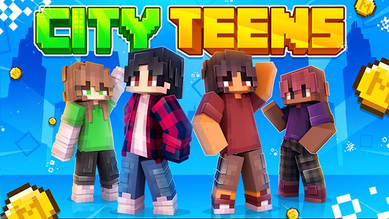 City Teens on the Minecraft Marketplace by Cynosia