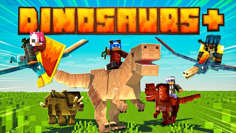 Dinosaurs on the Minecraft Marketplace by Nitric Concepts