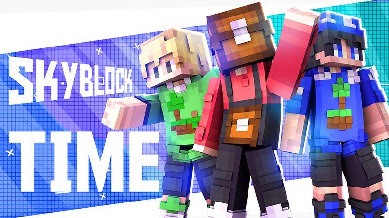 SkyBlock Time on the Minecraft Marketplace by Blu Shutter Bug