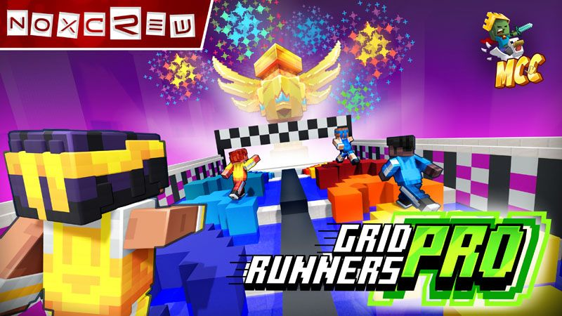Grid Runners Pro on the Minecraft Marketplace by Noxcrew
