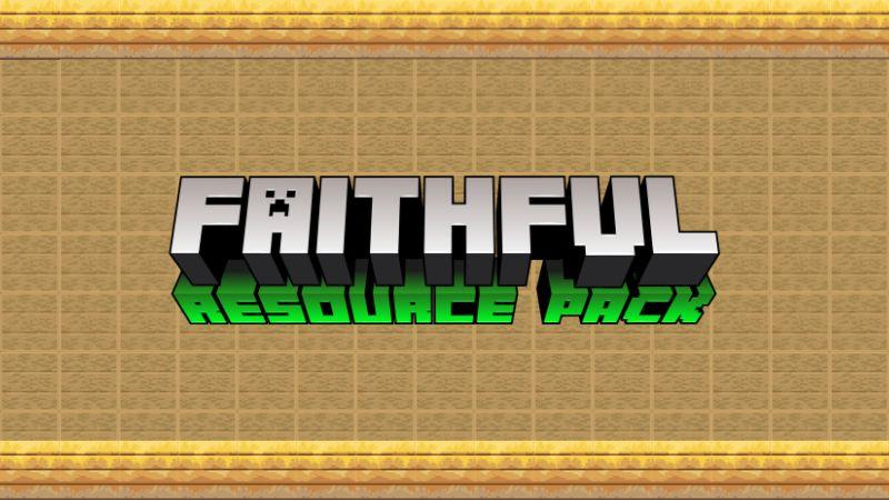 Faithful on the Minecraft Marketplace by Xmrvizzy