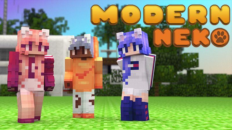 Modern Neko on the Minecraft Marketplace by 4KS Studios