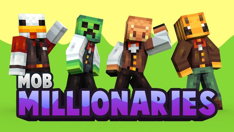 Mob Millionaires on the Minecraft Marketplace by Snail Studios