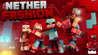 Nether Fashion on the Minecraft Marketplace by Diluvian