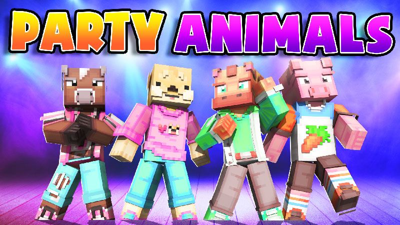 Party Animals on the Minecraft Marketplace by Dark Lab Creations