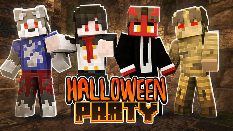 Halloween Party on the Minecraft Marketplace by Sapphire Studios