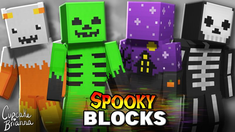Spooky Blocks HD Skin Pack on the Minecraft Marketplace by CupcakeBrianna