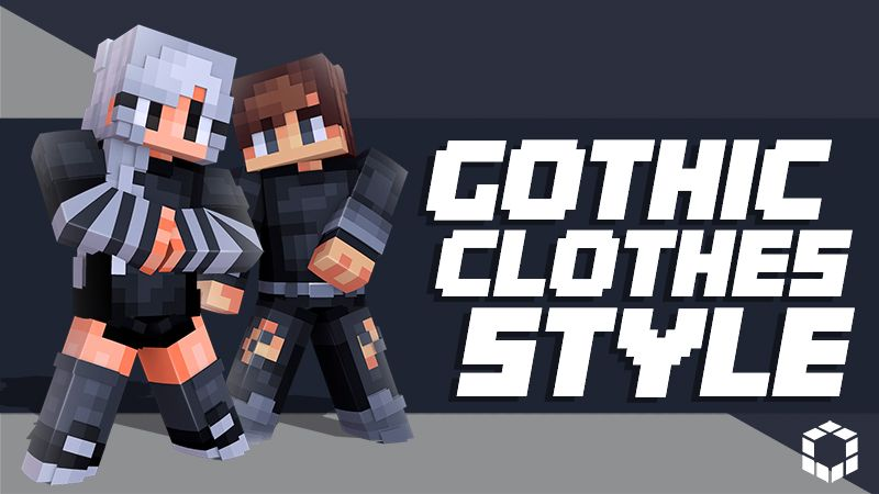 Gothic Clothes Style on the Minecraft Marketplace by UnderBlocks Studios