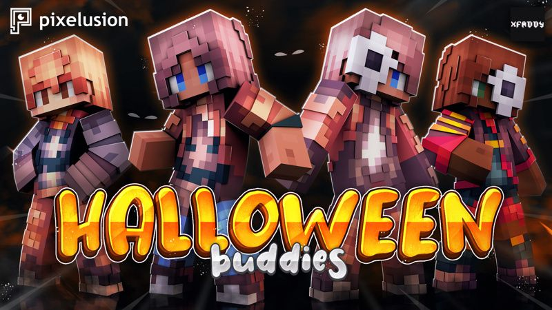 Halloween Buddies on the Minecraft Marketplace by Pixelusion