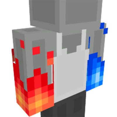 Ice and Fire Flames on the Minecraft Marketplace by Metallurgy Blockworks