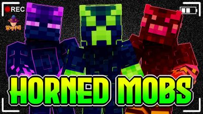 Horned Mobs on the Minecraft Marketplace by Magefall