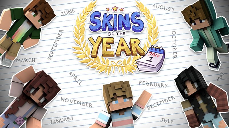 Skins of the Year on the Minecraft Marketplace by Mineplex