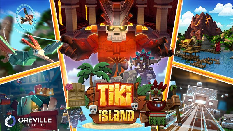 Tiki Island on the Minecraft Marketplace by Oreville Studios