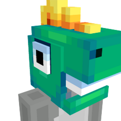 Dino mask on the Minecraft Marketplace by Humblebright Studio