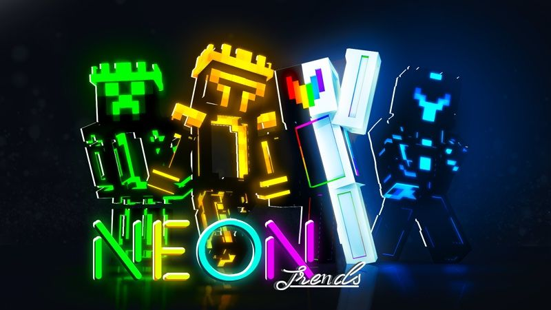 Neon Trends on the Minecraft Marketplace by DogHouse