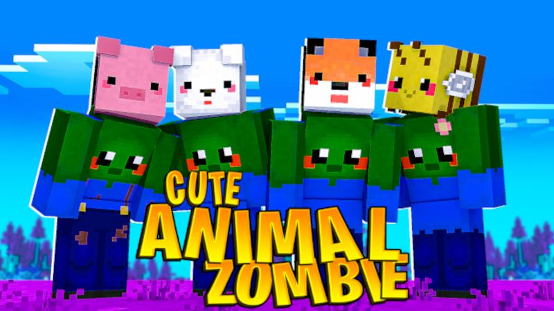 Cute Animal Zombie on the Minecraft Marketplace by DogHouse