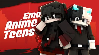 Emo Anime Teens on the Minecraft Marketplace by Glowfischdesigns
