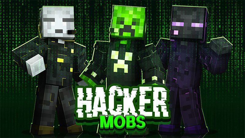 Hacker Mobs on the Minecraft Marketplace by The Lucky Petals