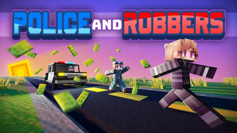 Police and Robbers on the Minecraft Marketplace by Cubed Creations
