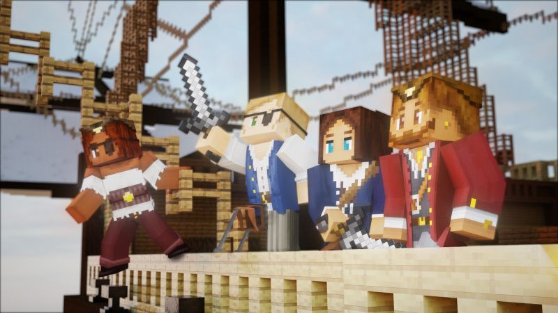 Pirates on the Minecraft Marketplace by FTB