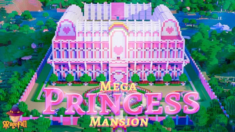 Princess Mega Mansion on the Minecraft Marketplace by Magefall