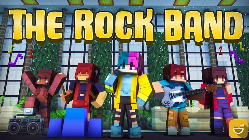 The Rock Band on the Minecraft Marketplace by Giggle Block Studios