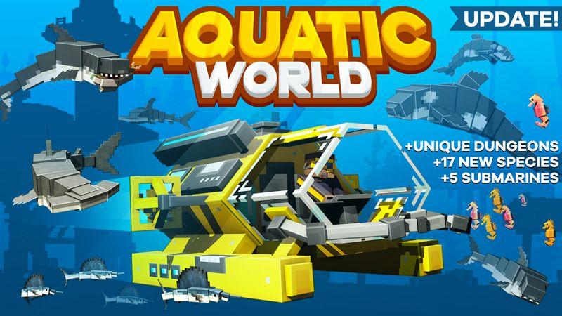 Aquatic World on the Minecraft Marketplace by HorizonBlocks