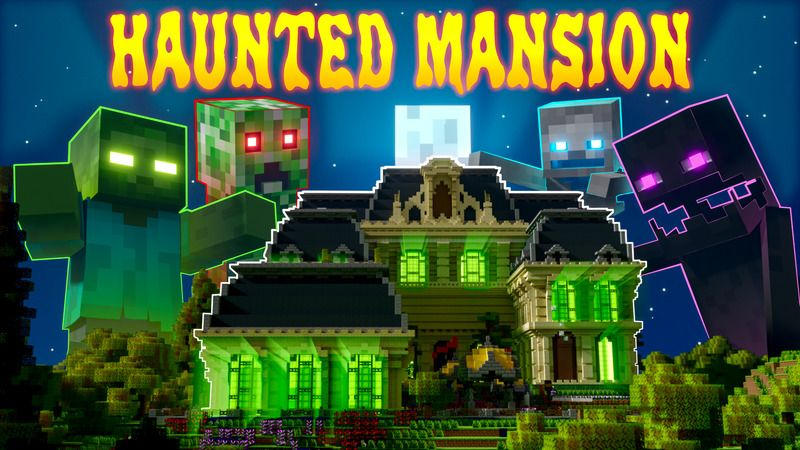 Haunted Mansion on the Minecraft Marketplace by Enchanted
