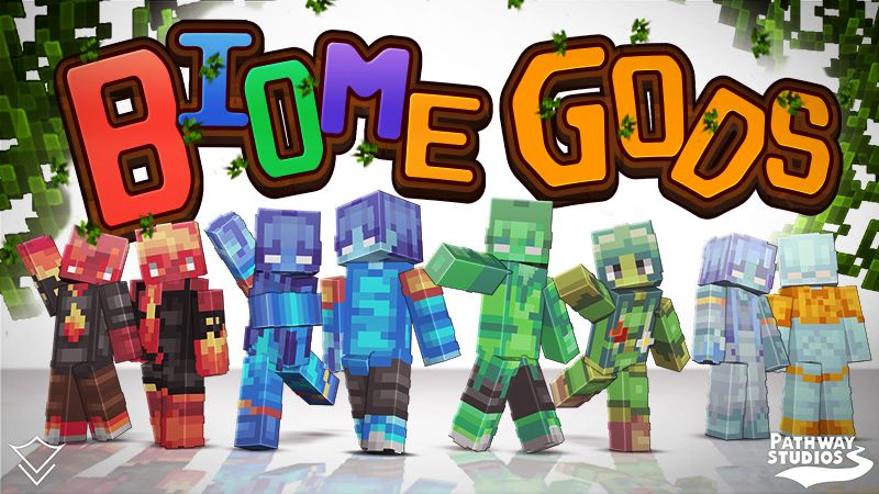Biome Gods on the Minecraft Marketplace by Pathway Studios