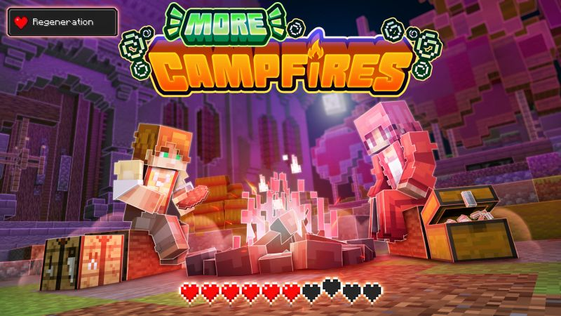 More Campfires on the Minecraft Marketplace by FTB
