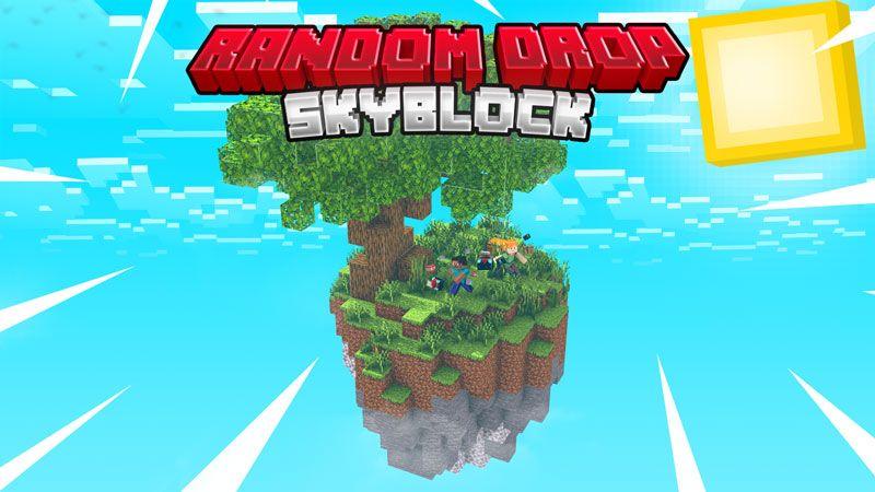 Random Drop Skyblock on the Minecraft Marketplace by Fall Studios