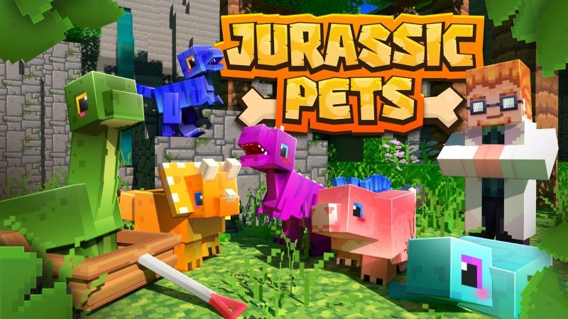 Jurassic Pets on the Minecraft Marketplace by Shapescape