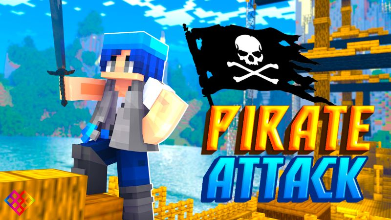 Pirate Attack on the Minecraft Marketplace by Rainbow Theory