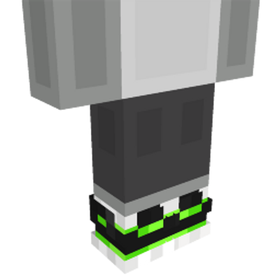 Creeper Sneakers on the Minecraft Marketplace by Mob Pie