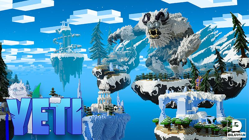 Sky Monster Yeti on the Minecraft Marketplace by Diluvian