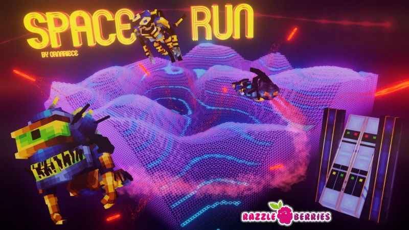Space Run on the Minecraft Marketplace by Razzleberries