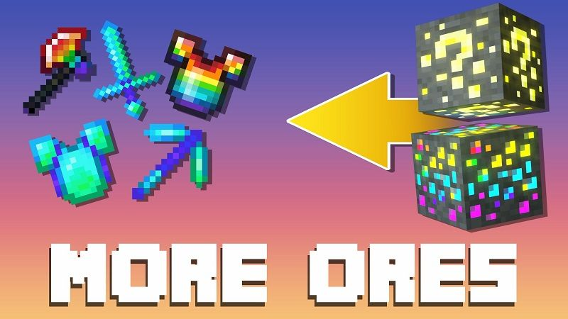 More Ores on the Minecraft Marketplace by BBB Studios