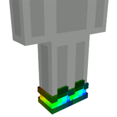 Rainbow Shoes on the Minecraft Marketplace by Cleverlike