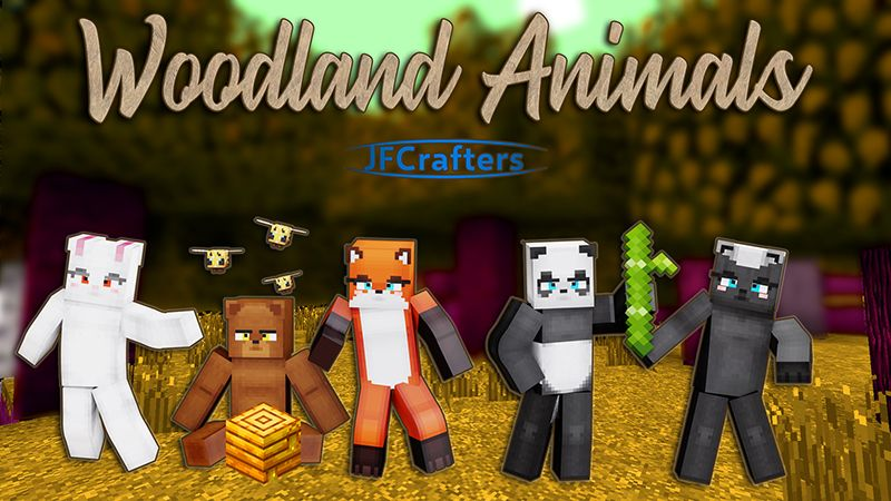 woodland Animals on the Minecraft Marketplace by JFCrafters