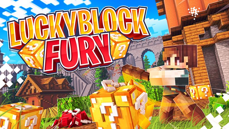 Lucky Block Fury on the Minecraft Marketplace by Cypress Games