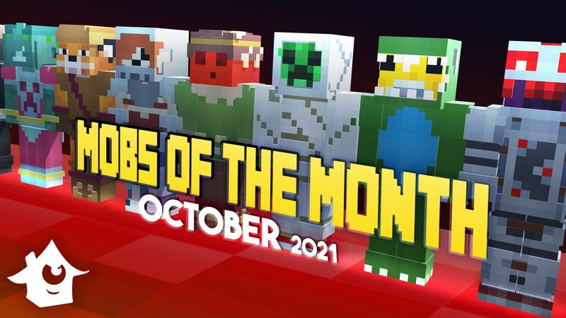 Mobs of the Month  October on the Minecraft Marketplace by House of How