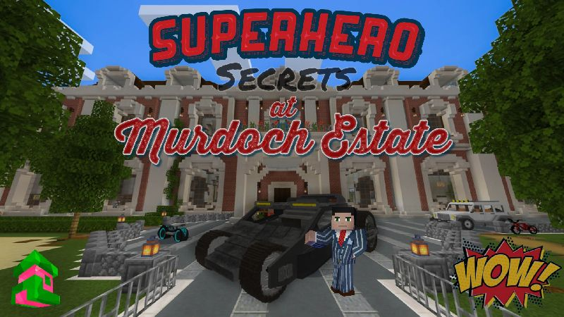 Superhero Secrets on the Minecraft Marketplace by Project Moonboot