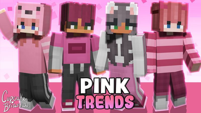 Pink Trends Skin Pack on the Minecraft Marketplace by CupcakeBrianna