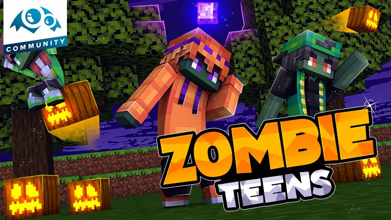 Zombie Teens on the Minecraft Marketplace by Monster Egg Studios