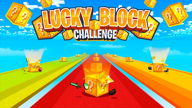 Lucky Block Challenge on the Minecraft Marketplace by Norvale